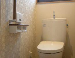 すっきり清潔な印象になったトイレ