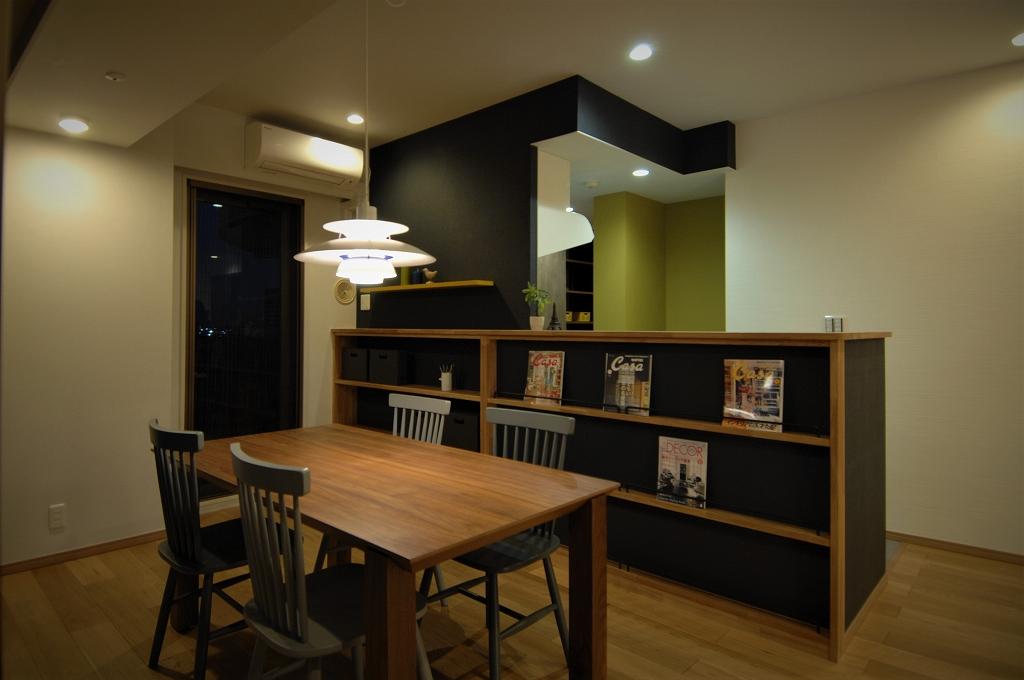 家族との時間を楽しむLDK<br /> お気に入りのカフェスタイル空間<br /> 大好きな空間で週末を楽しむ