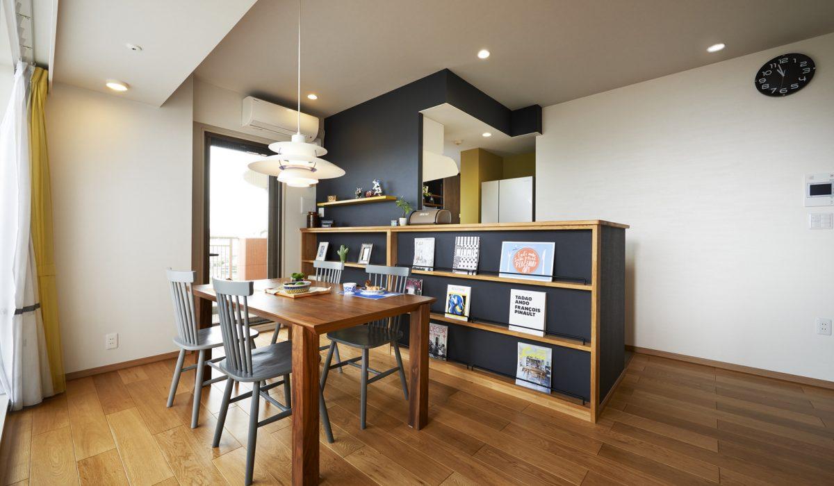 中古を買って、リノベーション<br /> 家族との時間を楽しむLDK<br /> お気に入りのカフェスタイル空間<br /> 大好きな空間で週末を楽しむ