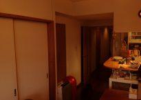 リビングと隣接する和室の入り口