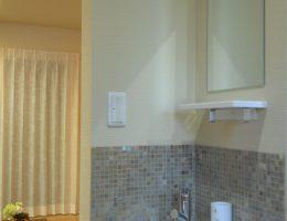 玄関手洗いコーナー