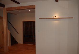 お気に入りの古建具を入れて雰囲気ある和室に